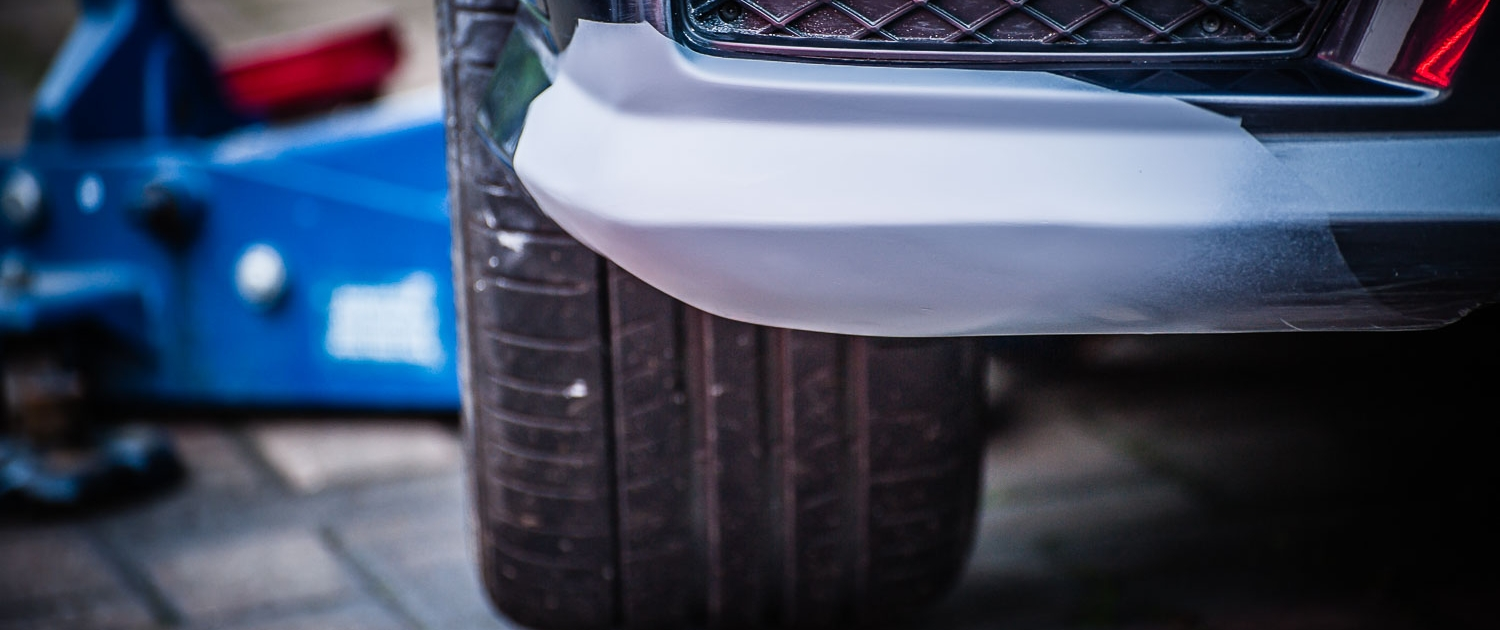 Attention to Detail mobile smart repair after bumper repairs image by Ian Skelton Photography