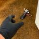 Car Keys on door mat Social Distancing