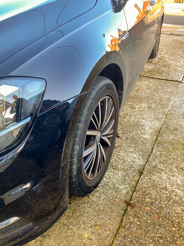 car dented wing smart repair
